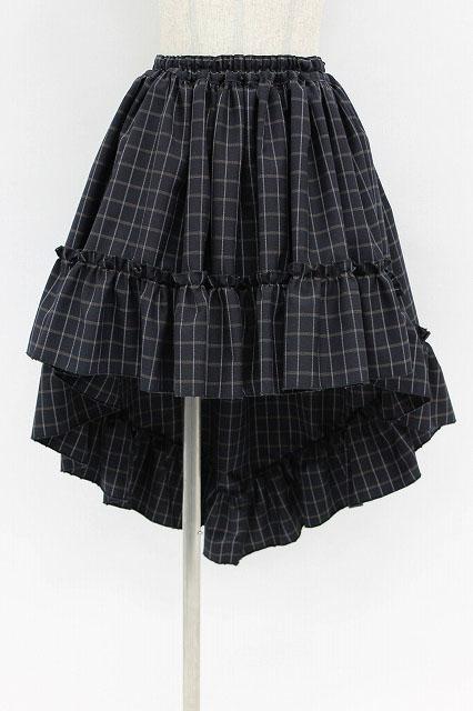 MARBLE / チェックフィッシュテールスカート