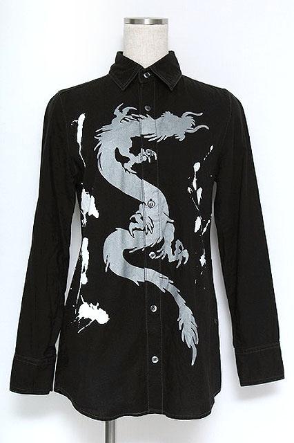 ALGONQUINS / ドラゴンプリントシャツ