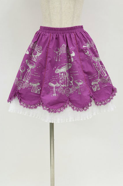 PUTUMAYO / 森のきのこスカラップスカート