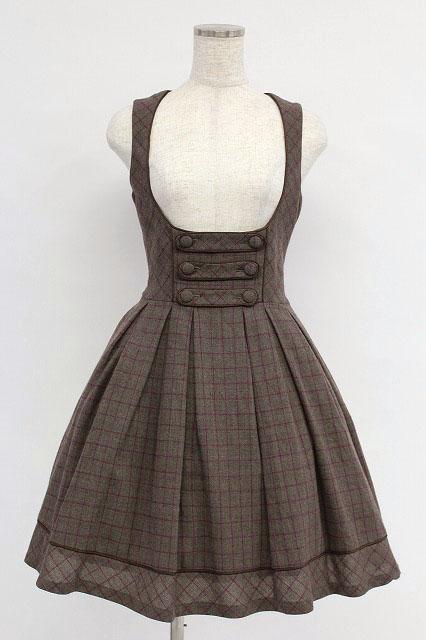Victorian Maiden / ブリティッシュチェックジャンパースカート