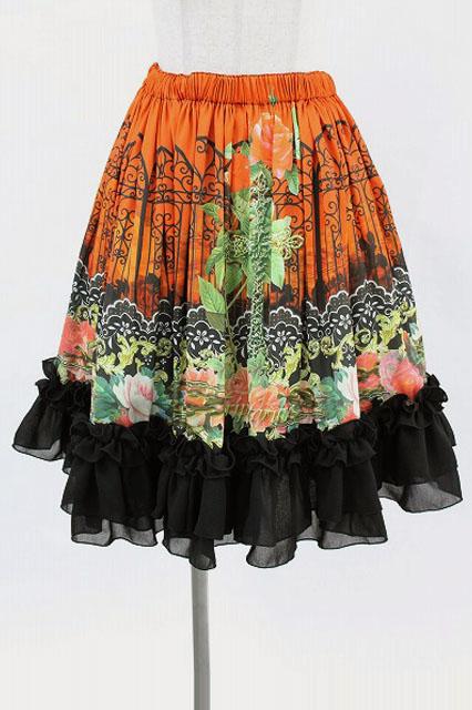 Triple fortune / 焔の帝国スカート