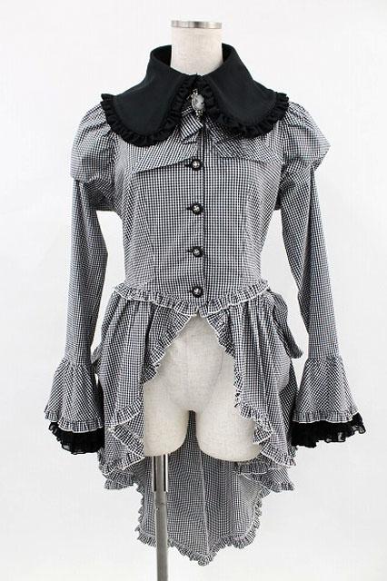 MARBLE / ギンガムチェックオーバードレス