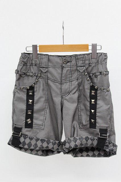 ALGONQUINS / チェック&ダイヤ柄ハーフパンツ