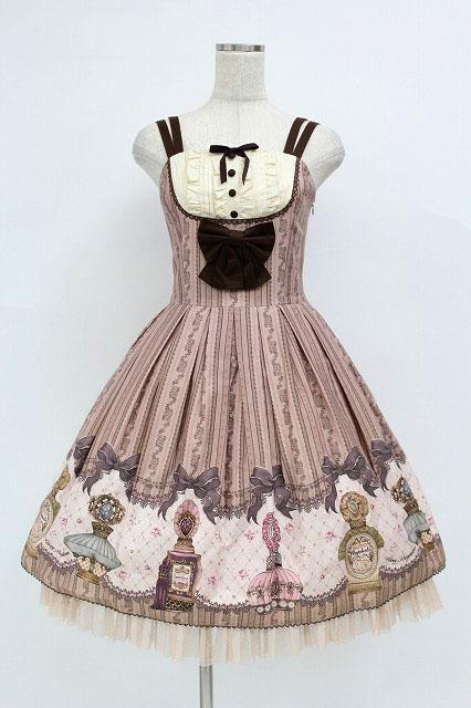 Mary Magdalene / 香水瓶ジャンパースカート