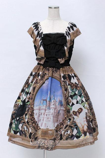 Juliette et Justine / Robe de collage un chateau〜ローブ ドゥ コラージュ アン シャトー〜