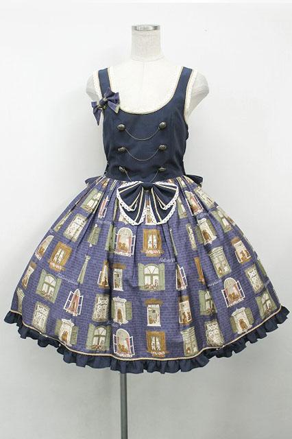 metamorphose / Brick houseジャンパースカート