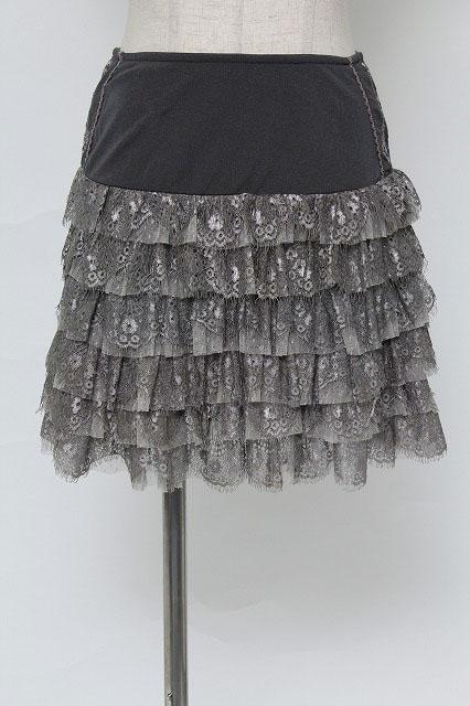 OZZ ANGELO / 花レーススカート