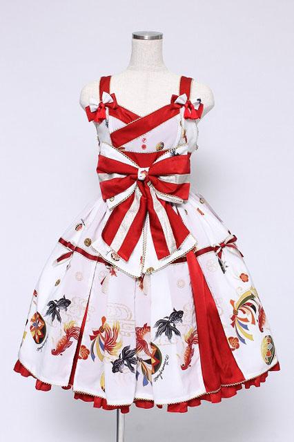 metamorphose / 乙女の白昼夢タックジャンパースカート