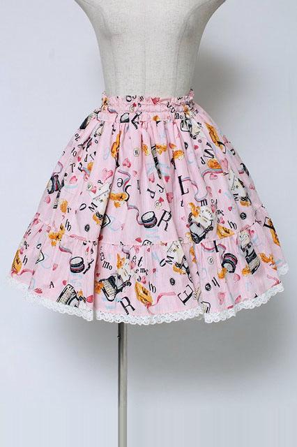 metamorphose / リスのお手紙スカート