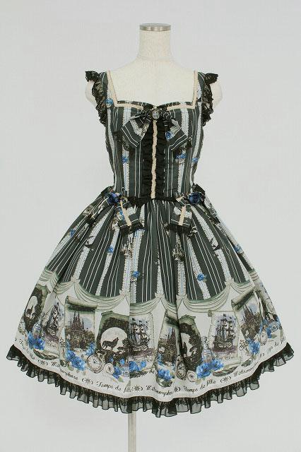 metamorphose / 記憶の旅リボンジャンパースカート