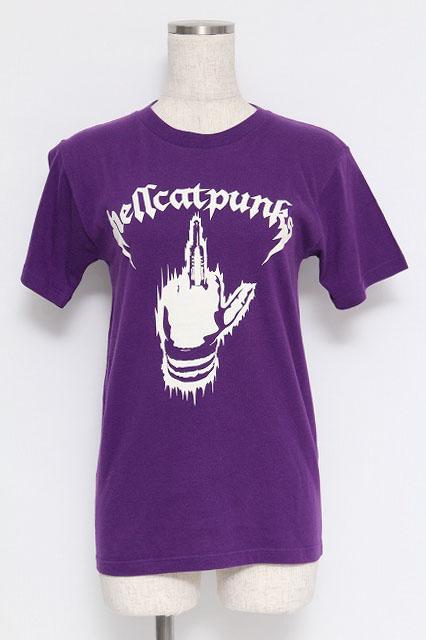 HELL CAT PUNKS / ハンドプリントTシャツ