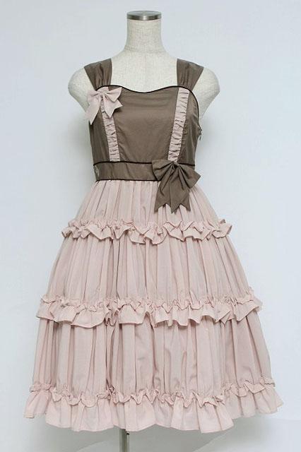 Victorian Maiden / ギャザーフリルリボンドレス