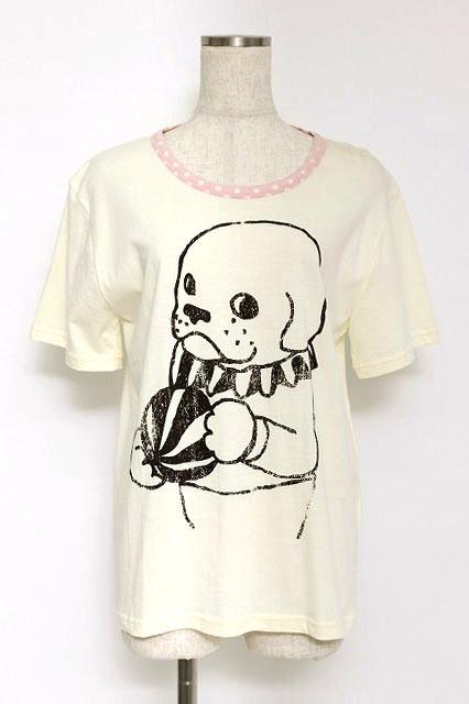 MALKOMALKA / アニマルプリントTシャツ