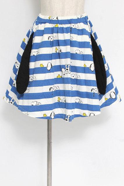 Candy Stripper / スヌーピーボーダースカート