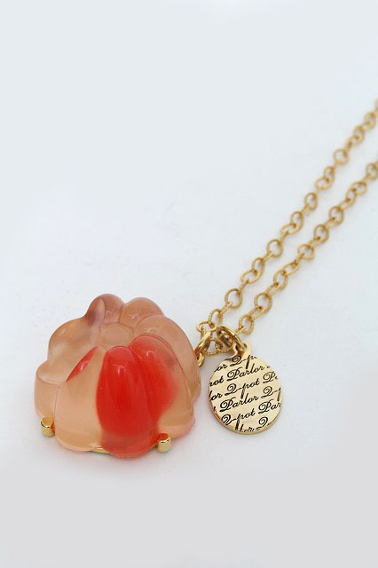 Q-pot. / Juicy Cherry Jelly Necklace