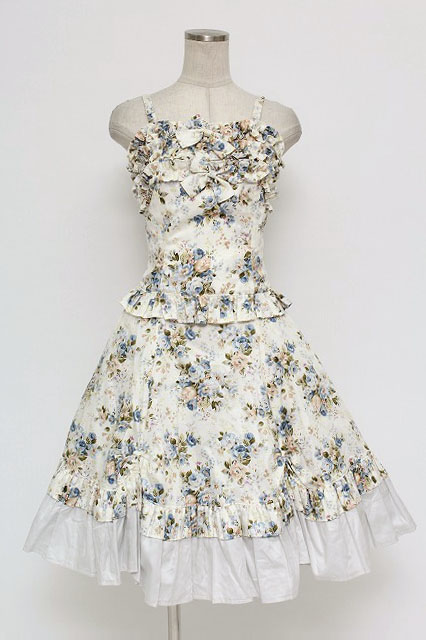 Victorian Maiden / ロココブーケフリルキャミソール&スカラップスカート
