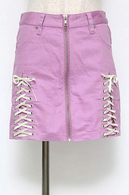 LISTEN FLAVOR / レースアップコルセット風スカート