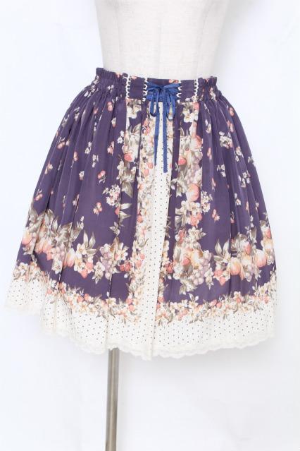 axes femme / フルーツ&ドットスカート