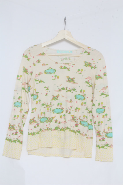 franche lippee / 森プリントカットソー
