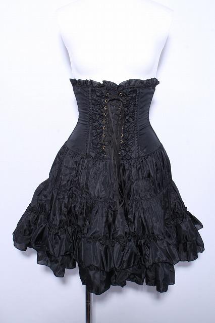 ATELIER PIERROT / ギャザーフリルコルセットスカート
