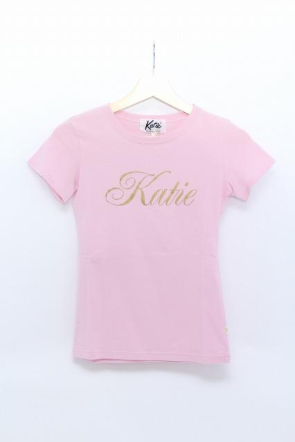 Katie / ロゴTシャツ