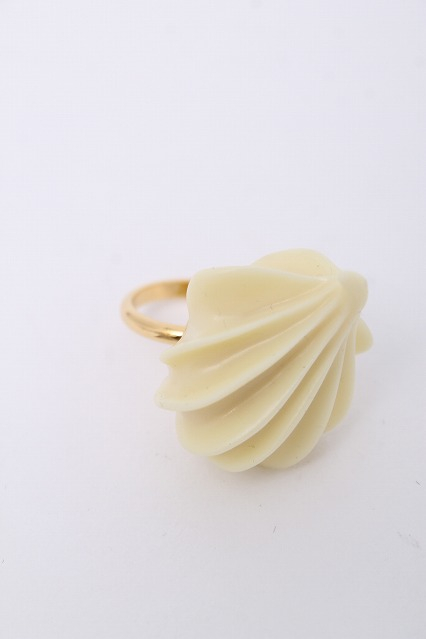 Q-pot. / Single Whip Ring(Condensed Milk)