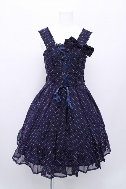 metamorphose / スターシフォンジャンパースカート