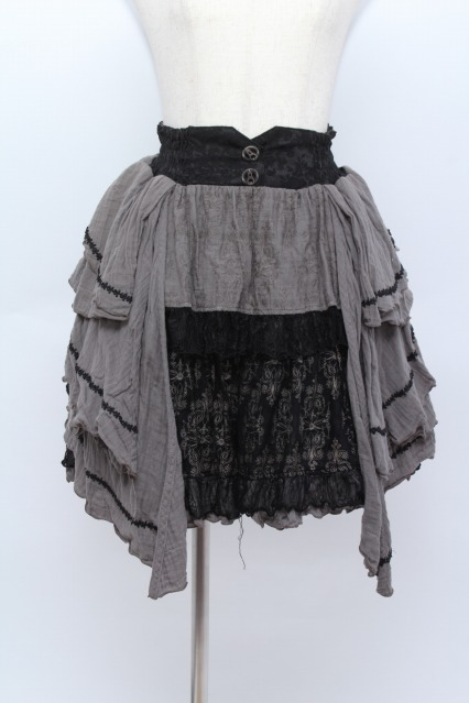STEAM / ガーゼ切替スカート