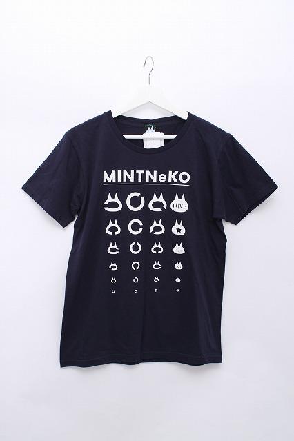 MINT NeKO / ランドルト環プリントTシャツ