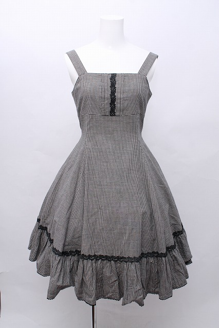 Victorian Maiden / 千鳥柄ジャンパースカート