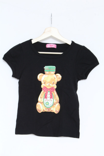 Angelic Pretty / Honey BearプリントTシャツ