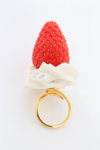 Q-pot. / Fresh Straeberryリング