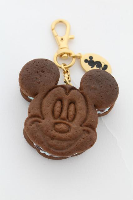 Q-pot. / ミッキーマウス / チョコミントクッキーサンドアイスバッグチャーム