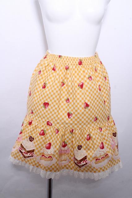 Shirley Temple / ギンガムケーキスカート