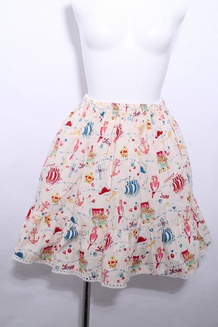 Shirley Temple / パイレーツ柄スカート