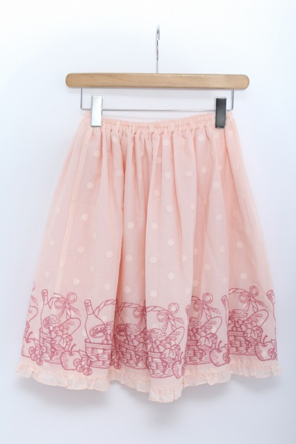 Shirley Temple / バスケット刺繍スカート