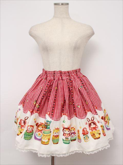 metamorphose / Nostalgic Matryoshka Dollミニスカート