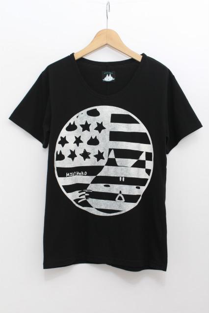 MINT NeKO / ハンバーガーレディプリントTシャツ