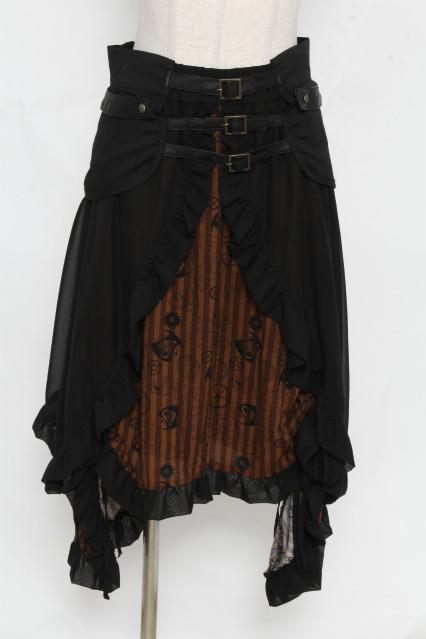 h.naoto Blood / アリス・イン・ワンダーランド / 時間の旅コルセット付スカート