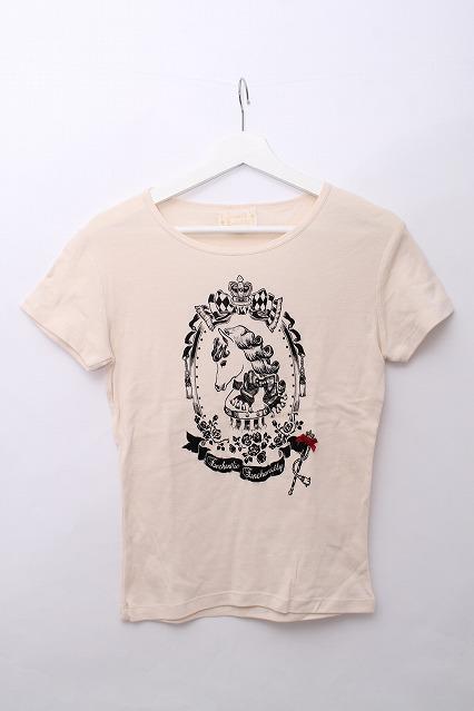Enchantlic Enchantilly / 額縁ポニープリントtシャツ
