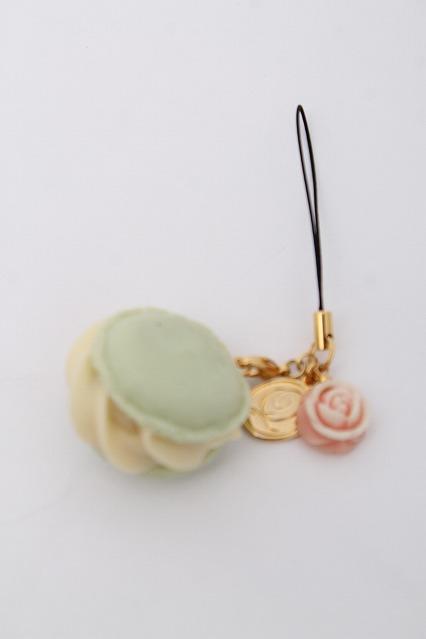 Q-pot. / Rose Macaronストラップ