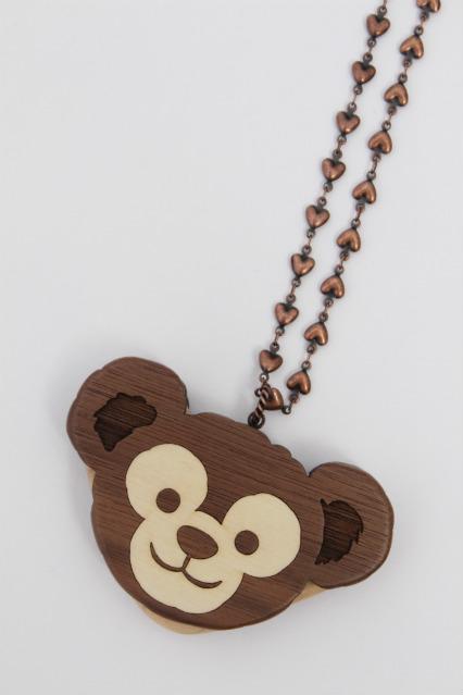 Q-pot. / Disneyコラボ ダッフィークッキーサンドネックレス