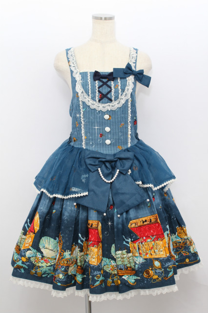 metamorphose / マーメイドプリンセスペプラムジャンパースカート&リボンヘッドドレス