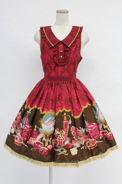 metamorphose / Dress room衿付ジャンパースカート
