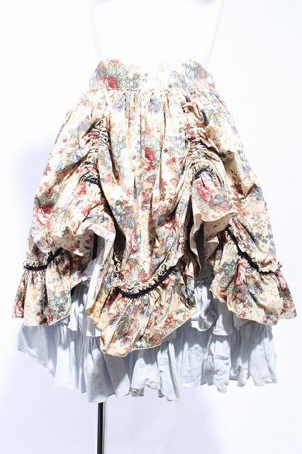 ATELIER PIERROT / ブーケゴブラン柄バッスルスカート
