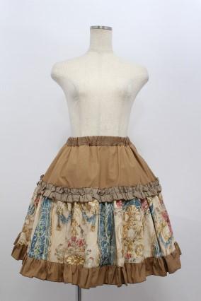 STEAM / ジャガード切替スカート