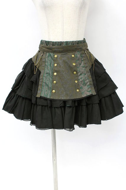 STEAM / Gear apronスカート
