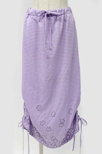MINT NeKO / バブルネコボーダースカート