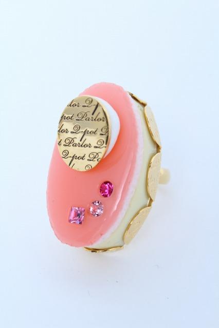 Q-pot. / Petit Strawberry Cream Cake リング