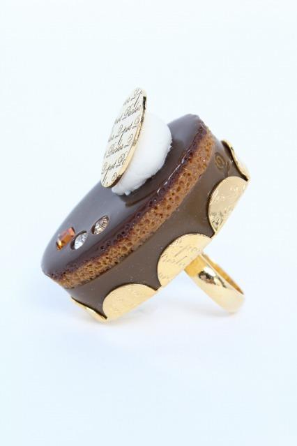 Q-pot. / Petit Choco Cream Cake  リング